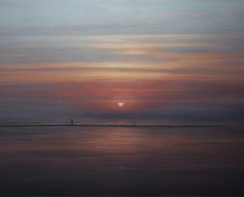 Avond, 2016, olieverf, 105 x 170 cm, € 1.700
