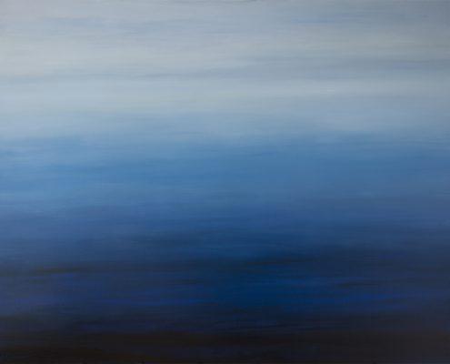 Blauwen, 2016, olieverf, 120 x 150 cm, € 1.800